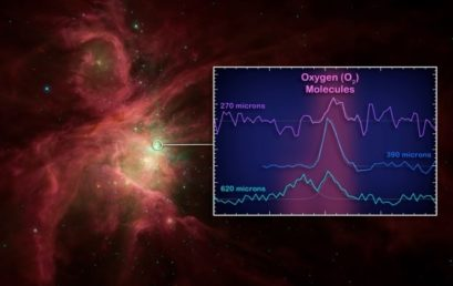 Molecular oxygen has been spotted beyond the Milky Way for the first time
