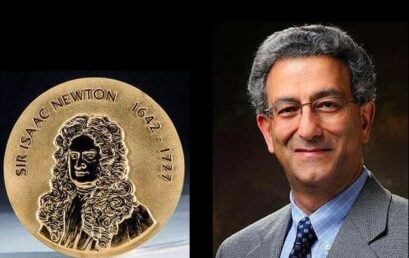 The Iranian researcher won the Newton Gold Medal