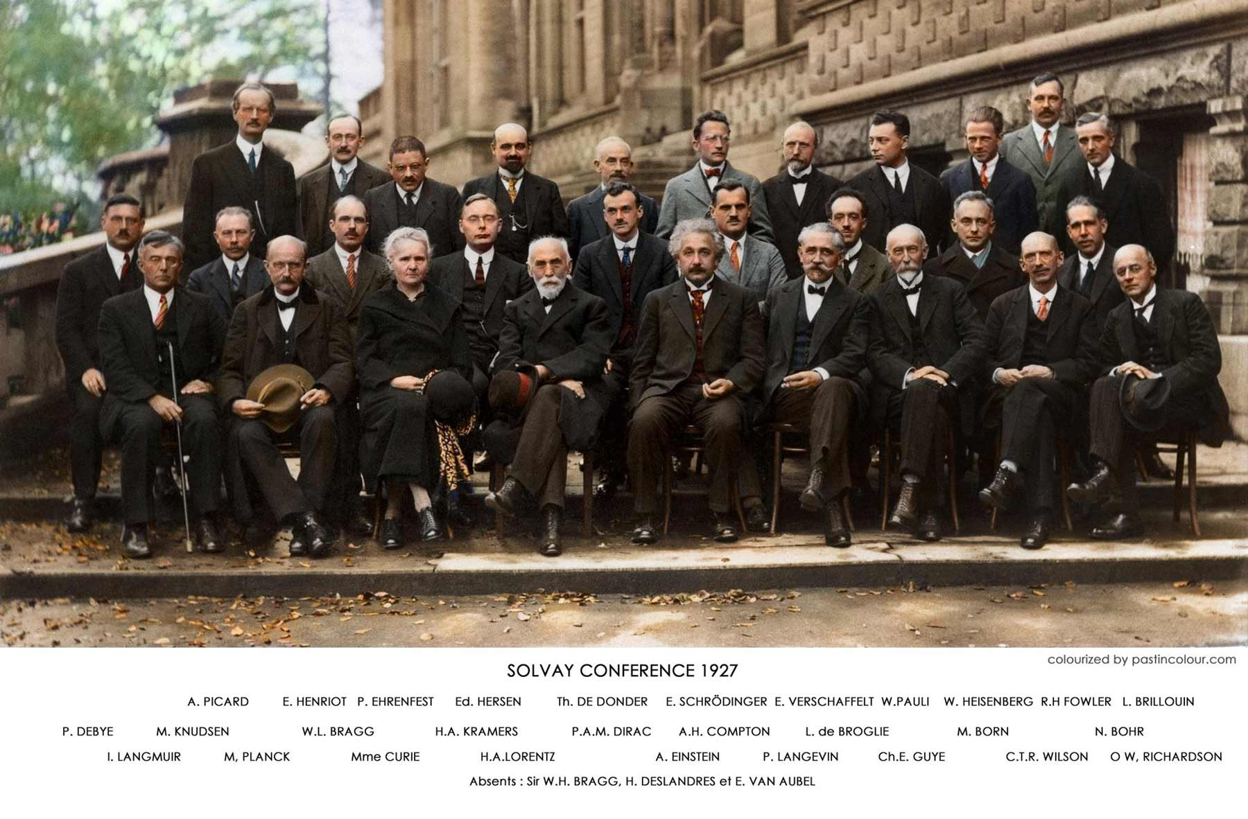 The world's greatest physicists in a picture