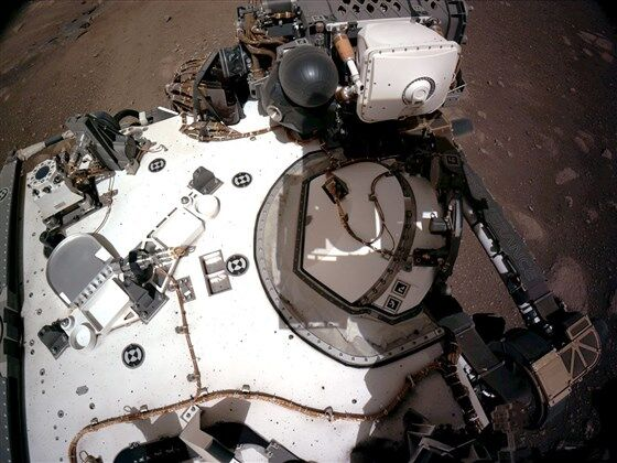 First sounds recorded from the Mars